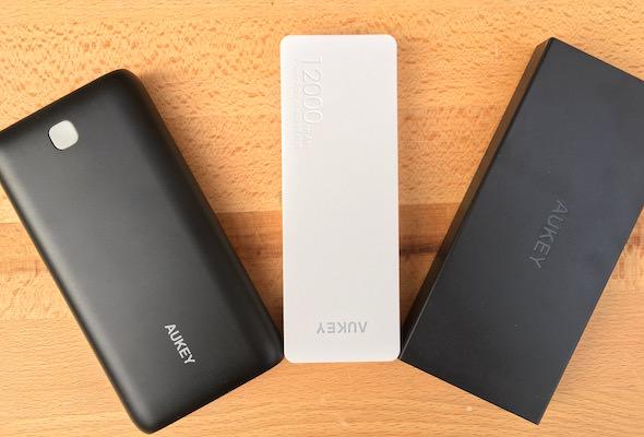 recensione batterie aukey grande portata