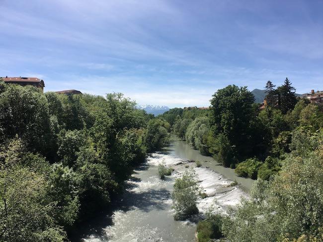 fiume lente grandangolo inmacus