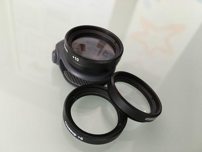 lente macro smartphone inmacus