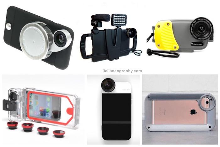 migliori custodie fotografiche iphone