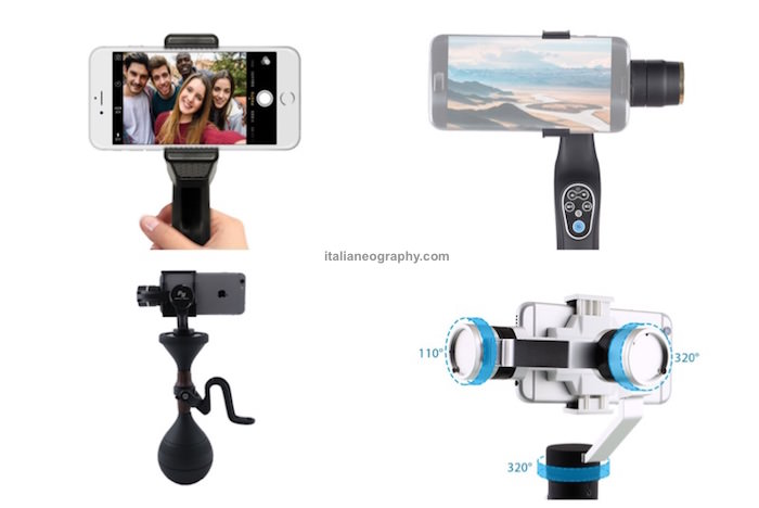 migliori stabilizzatori video smartphone