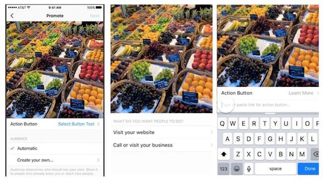 profili business instagram pubblicita