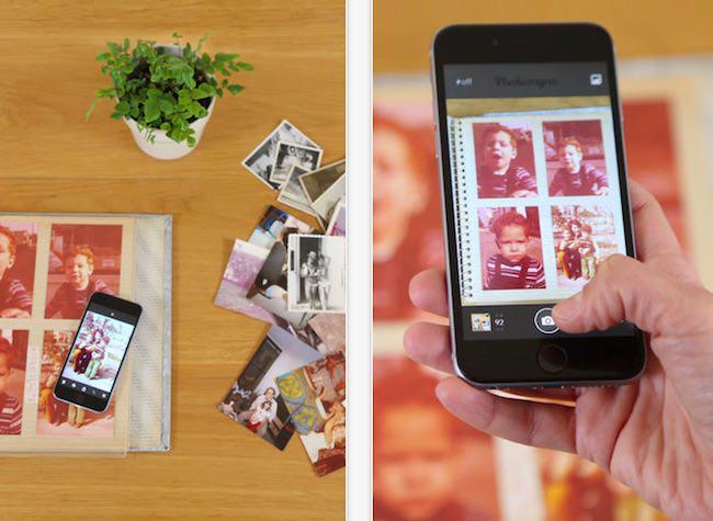 scanner vecchie foto photomyne