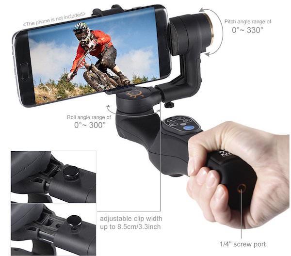 6 Stabilizzatori Video Per Smartphone Davvero Utili