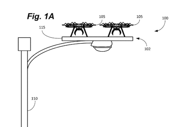 amazon droni lampioni