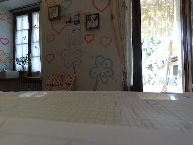 foto muro recensione xiaomi yi anti distorsione