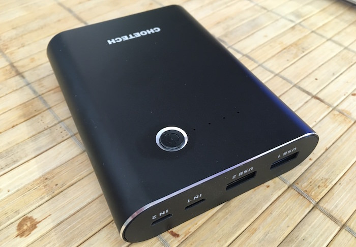 recensione batteria choetech 10400mAh