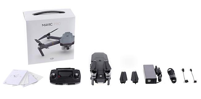 confezione drone dji mavic pro