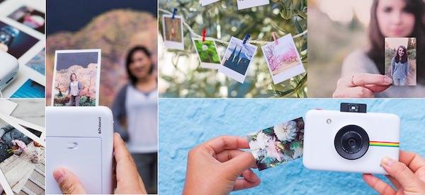 fotocamera polaroid snap touch