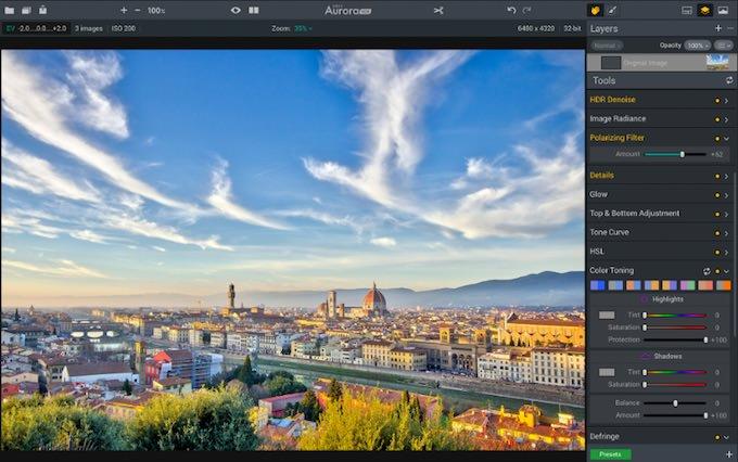 programma fotografia mac aurora hdr 2017