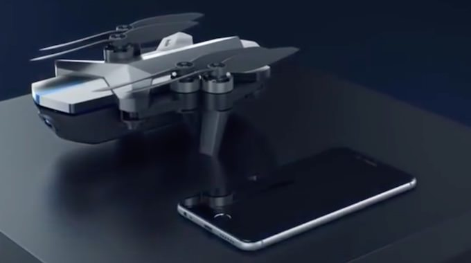 drone ying social wechat