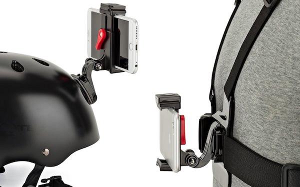 griptight pov kit con attacco casco