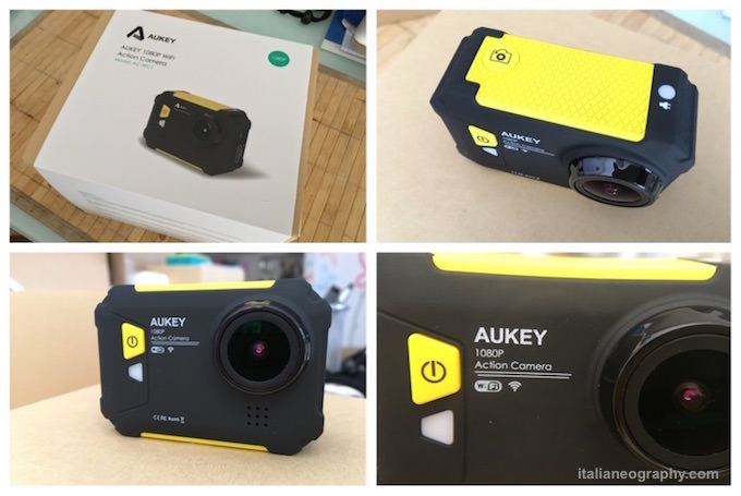 recensione aukey action camera ac-wc1