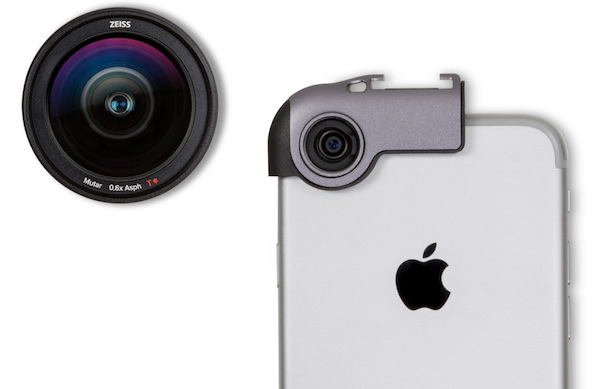 supporto Zeiss per lenti su iPhone 7
