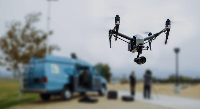 caratteristiche drone dji inspire 2