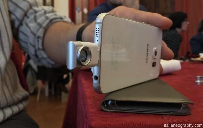 eye-plug come usare fotocamera