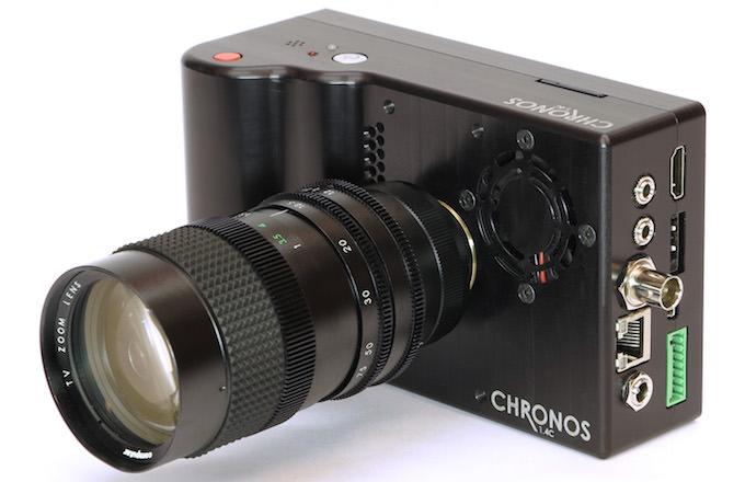 fotocamera chronos 1.4 alta velocità
