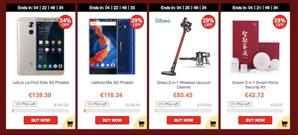 gearbest black friday 2017 sconti e coupon