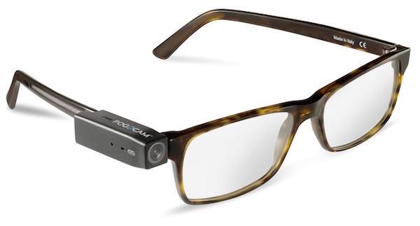 pogocam attacco magnetico occhiali fotocamera