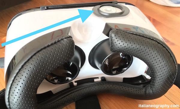 pulsante magnetico visore umi box 3