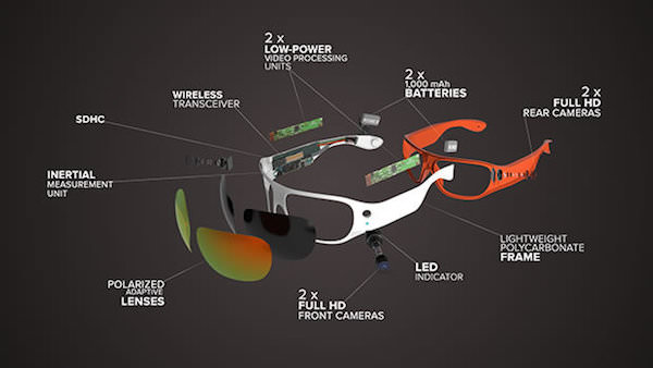 tecnologia costruzione occhiali orbi prime
