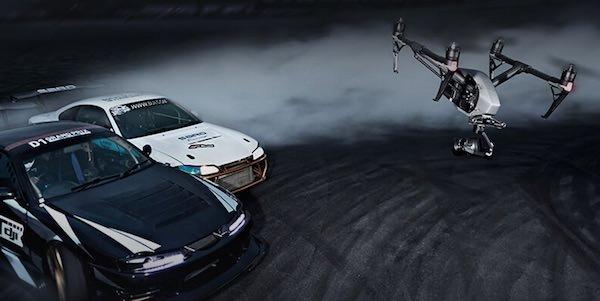 velocità drone inspire 2