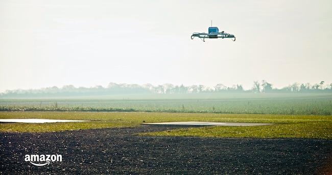 come funziona amazon prime air consegne droni