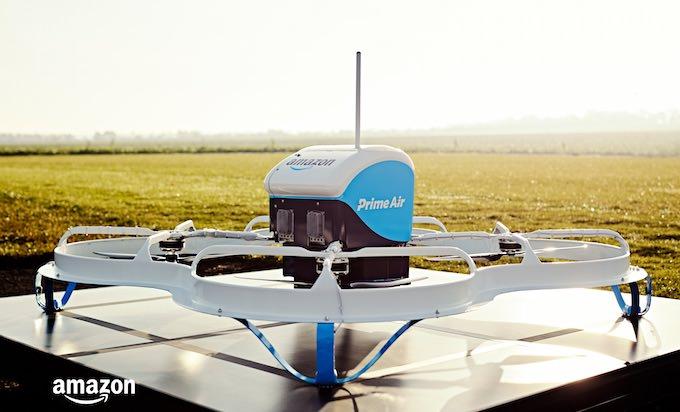 primo volo amazon prime air drone uk