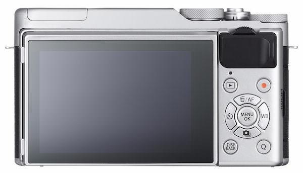 schermo posteriore fujifilm xa10 mirrorless