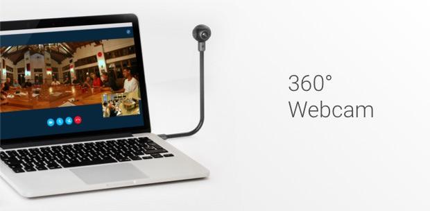 webcam 360 gradi computer insta360 air
