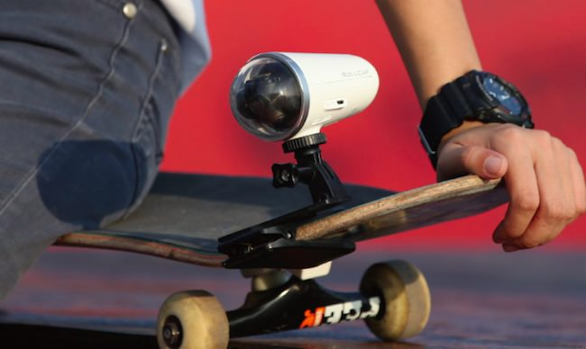 action cam zerotech rollcap