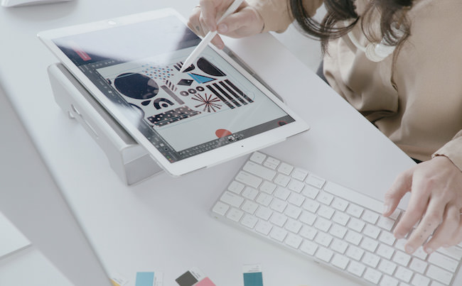 astropad studio e tastiera Mac