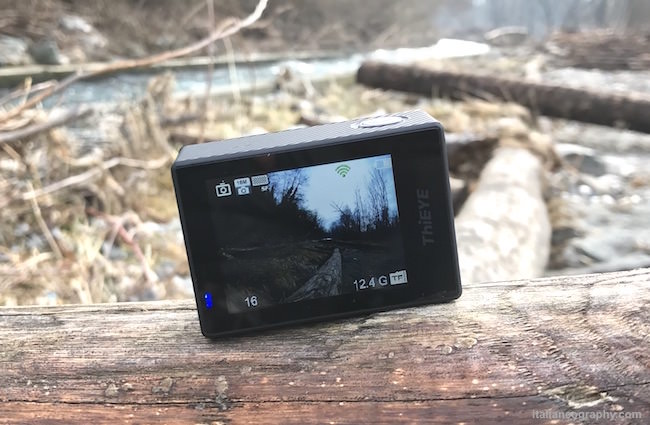 display action cam thieye t5