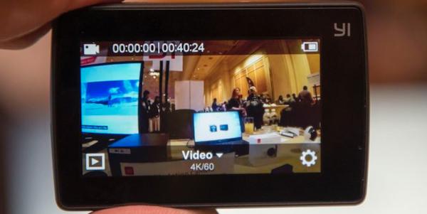 display caratteristiche xiaomi yi 4k+