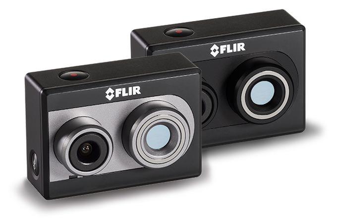 flir duo action camera termica