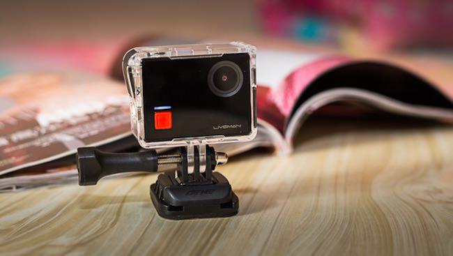 leEco Liveman C1 action cam 4k