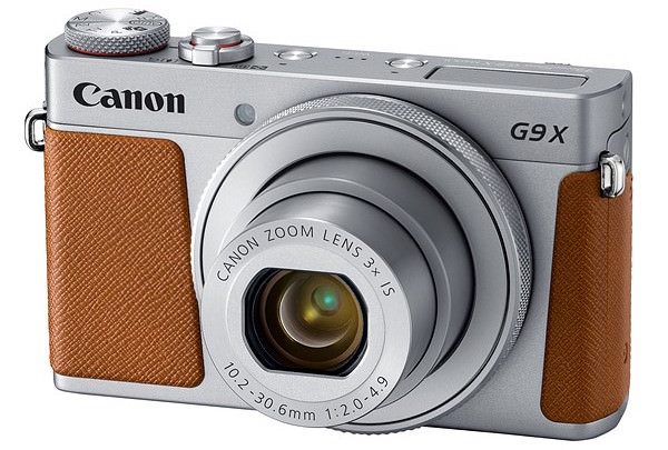 modello argento marrone Canon PowerShot G9 X Mark II