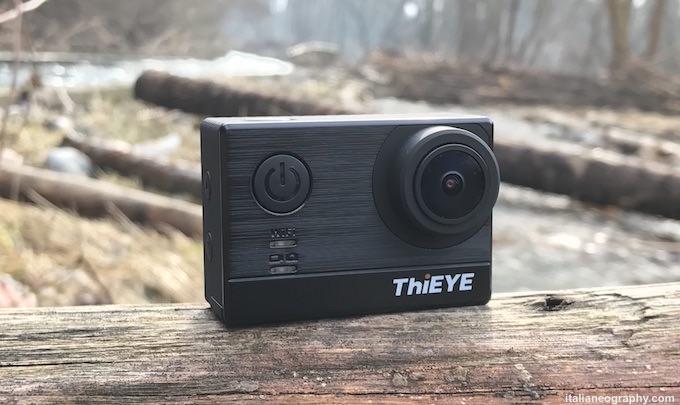 recensione Thieye action camera 4K