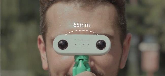 twoeyes vr 360 lenti distanza occhi umani