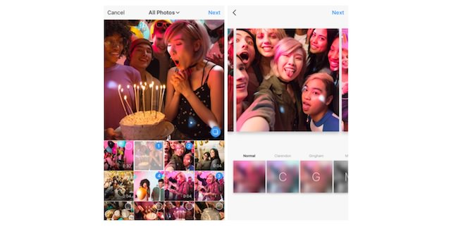 come creare un album su instagram