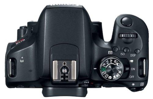 dettaglio superiore Canon EOS 800D