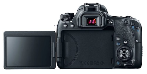 display orientabile Canon EOS 77D