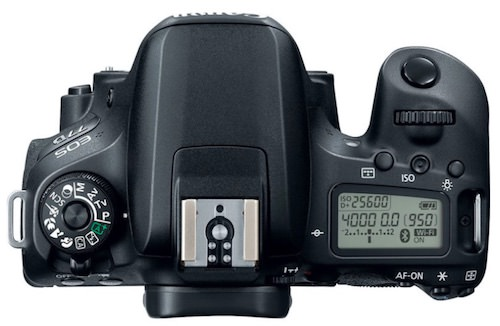 display secondario Canon EOS 77D