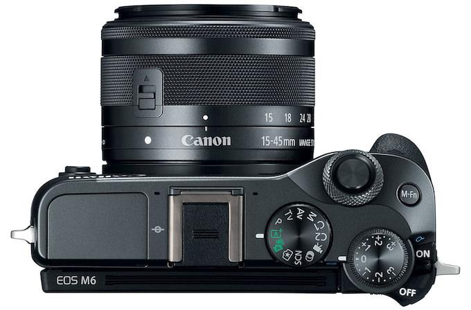 fotocamera mirrorless Canon EOS M6 caratteristiche prezzi