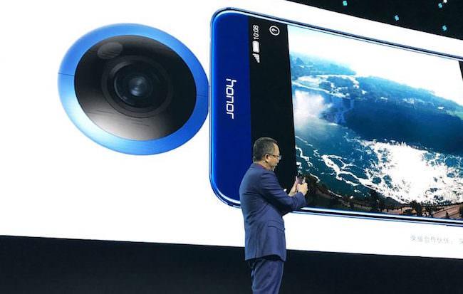 huawei annuncia fotocamera honor vr camera 360 gradi