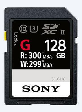 memoria microsd sony sf-g serie