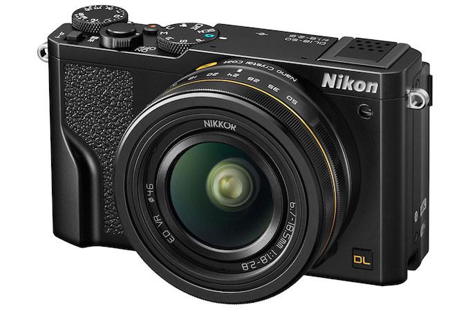 nikon termina produzione fotocamere compatte DL