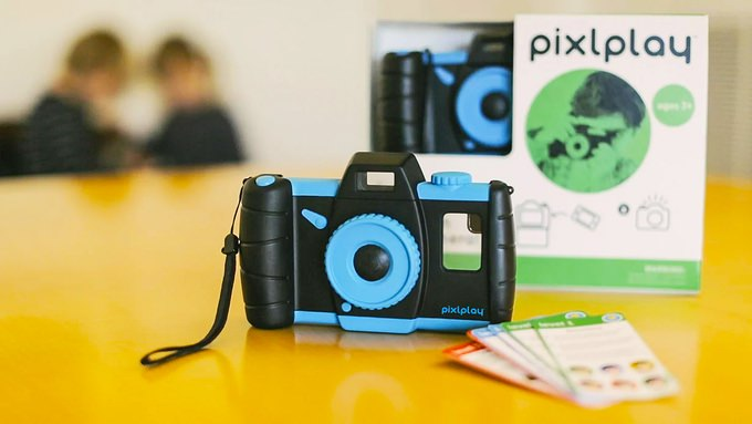 pixlplay trasforma telefono in fotocamera bambini