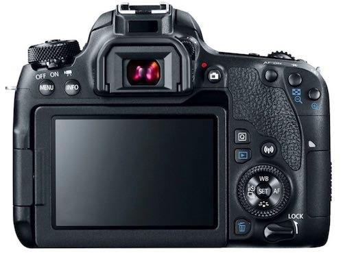 posteriore fotocamera Canon EOS 77D