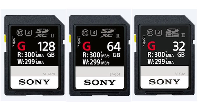 schede memoria sony sf-g 299mb/s